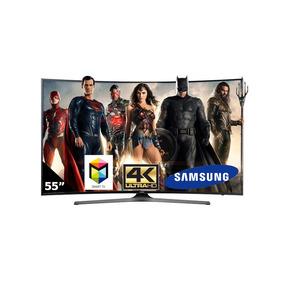 Pantalla Curva Samsung Smart Tv 55 4k Wif Un55ku650dfxza Msi