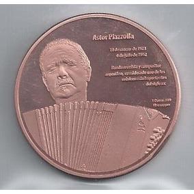 Colección De Medallas: Modelo N°2 Astor Piazzolla