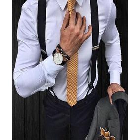 Camisa Masculina + Suspensório Lançamento Setembro 2018