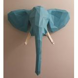 Cabeza De Elefante Papercraft