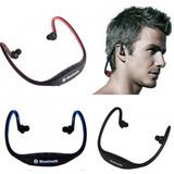 Auriculares Vincha Deportes Bluetooth Radio Microsd M Libres
