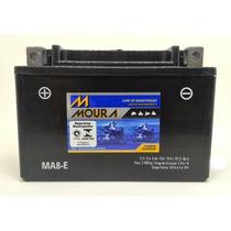 Bateria Moura Moto Ma8-e Ninja 250 Cb 500 Xt600e Mt03 Ytx9bs