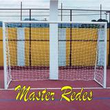 Par Rede De Gol Futsal, Futebol Salão F. 2mm, Proteção U.v.
