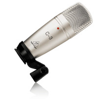Microfone Condensador De Estúdio Behringer C-3