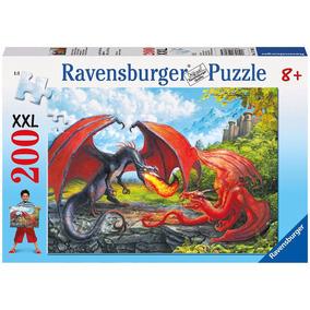 Ravensburger Xxl 200 Pcs Dragon Dinos 2 Mod Puzzle Educando