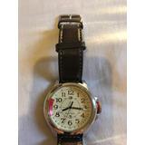 Relógio Tommy Hilfiger 44mm Pulseira Couro Otimo Estado