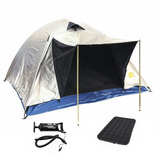 Carpa 4 Camping Iglu Colchon 2p Infla Sinintere