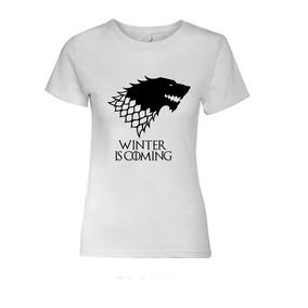 Polera Mujer Game Of Thrones (juego De Tronos)