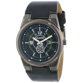 Unlisted Watches Mens Ul1094 City Streets Triple Black Round