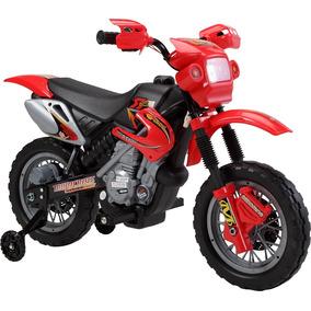 Moto Elétrica Infantil Vermelho Bel Brink