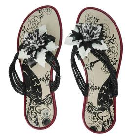 Sandalias Rosas Negro Blanco Talla 38 Mujer Moda Verano