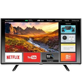 Smart Tv Led 40 Panasonic Tc-40ds600b Full Hd Com Wi-fi