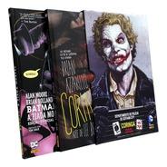 Box Coringa E Piada Mortal - Capa Dura Panini  Dc Comics