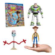 Clarín Colección Toy Story 4 Woody, Forky Y Buzz