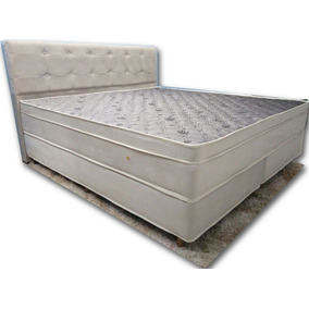 Colchão King Size Com Massagem E Base Box Soft Premium
