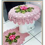 Jogo Banheiro Em Crochê