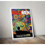 Poster Mad Men Arte Milton Glaser Ultima Temporada 80x120cm