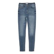 Pantalón De Mezclilla Skinny De Mujer C&a (3001813)