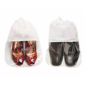Sacolas Sacos Tnt P/ Sapato E Bota Kit 10 Unid. Com Visor