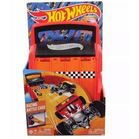 Hot Wheels Valija Multi Lanzador De Autos Racing Battle Case