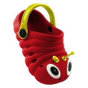 Sapato Infantil Crocs Babuche Centopeia Em Oferta