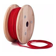 Cable Textil Tela Colores Normalizado X Metro Gran Variedad Garantia Ideal Decoracion