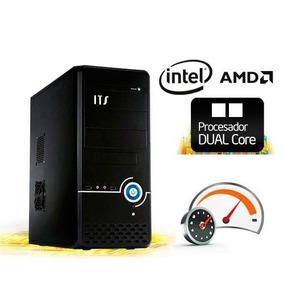 Pc Armada Dual Core 2 Gigas Hd 250 Gab Atx Nuevas