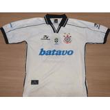 Camisa Corinthians Rincón Topper Batavo Brasileiro 1999 - 78