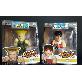 Bonecos Metal Die Cast Street Fighter