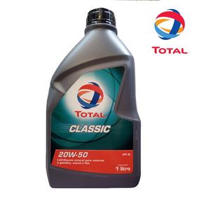 Oleo Lubrificante Motor 20w50 Total Sj 1 Litro