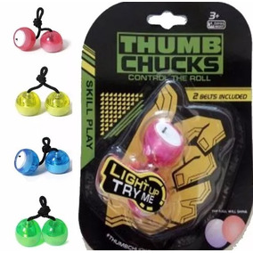 Thumb Chucks Led Brinquedo Anti Stress Promoção!!!