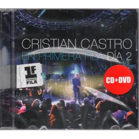 Cristian Castro En Primera Fila Dia 2 Cd + Dvd Los Chiquibum
