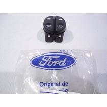 Botão Duplo Vidro Elétrico Dianteiro Ka 97/14 Fiesta 96/06