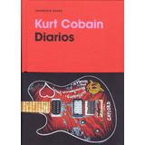 Kurt Cobain Nirvana Libro Diarios Europeo Español Nuevo