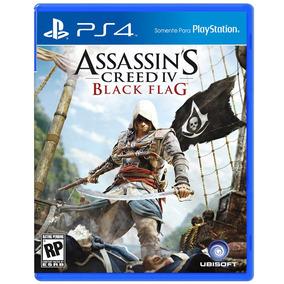 Jogo Assassins Creed Iv: Black Flag Playstation 4 (ps4)