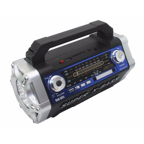 Bocina Link Bits Radio Am Fm Usb Sd Bateria Litio - Te1019