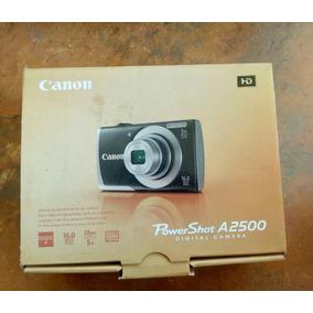 Cámara Canon Powershot A2500 Hd