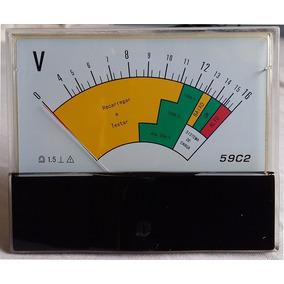 Voltímetro Analógico 16 V Importado Frete Grátis