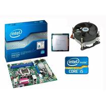 Kit Placa Mãe Intel + Core I5 3470 3.6 Ghz + Cooler Promoção