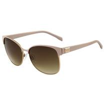 Bulget Bg 3156 - Óculos De Sol 04a Dourado Brilho E Creme/