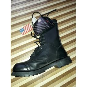 Botas Corcoran Negras Cuero Americana 41 Field Boot Militar