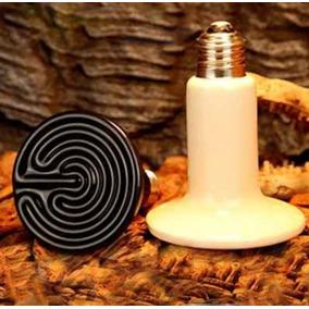 Lampada Aquecimento Cerâmica 150w 220v Aves/ Cobras Terrario