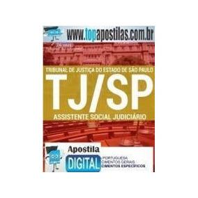 [apostila Digital] Tj-sp 2017 - Assistente Social Judiciário