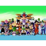 Painel Decorativo Festa Dragon Ball Z Goku [2x1,5m] (mod3)