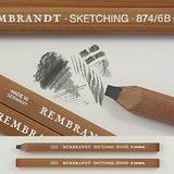 Lápiz Carpintero Rembrandt Lyra 6b