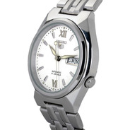 Reloj Seiko Automático 5 Snk315 Caja Y Malla Acero