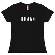 Playera Human Negra