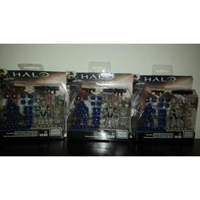 Halo Megaconstrux Spartan Pack De Armas Y Armad Envio Gratis