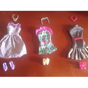 Roupas E Acessórios Barbie Fashionista