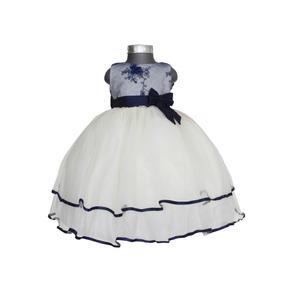 Batita Paje Presentacion Bautismo Vestido Niña Bebe